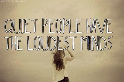 quiet=people